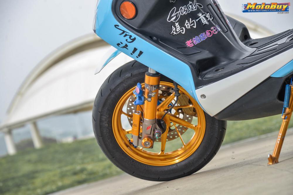 Yamaha Cygnus X125 do dang cap voi tinh cach danh da cua nhan vat Stick - 4
