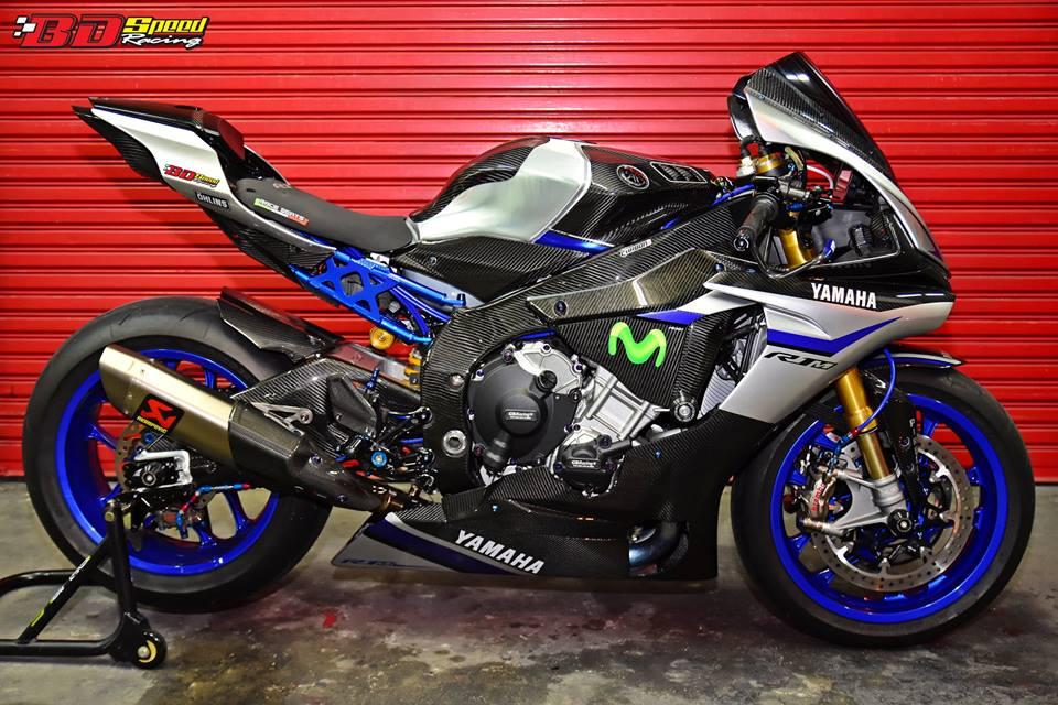 Yamaha R1M day suc hap dan voi body Carbon fiber - 8