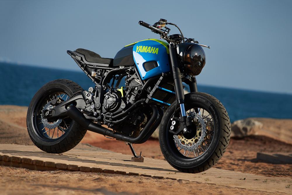 Yamaha XSR700 ban do Tracker day khac biet
