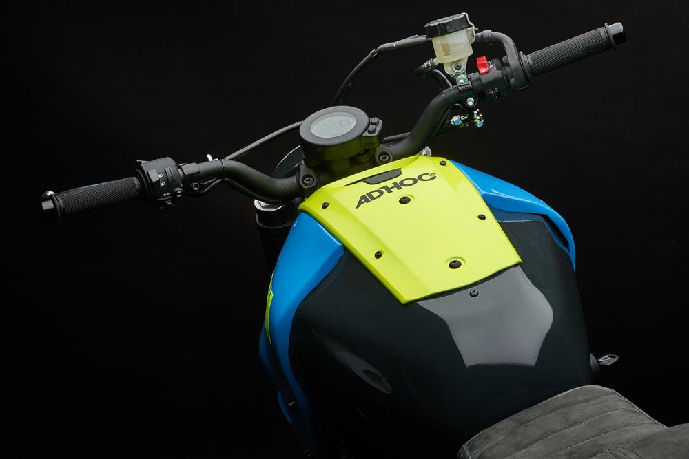 Yamaha XSR700 ban do Tracker day khac biet - 6