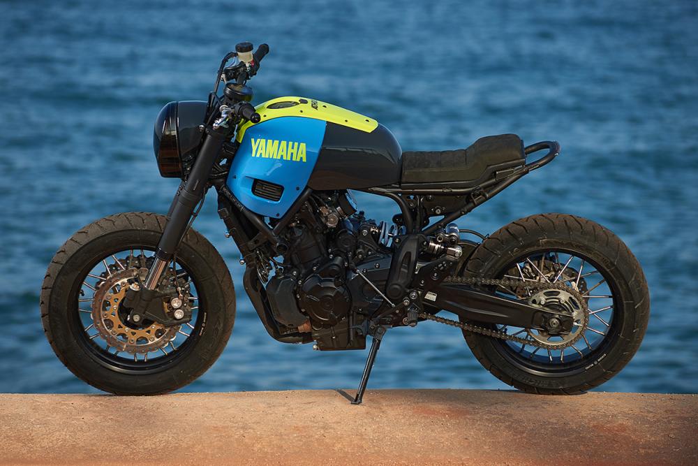 Yamaha XSR700 ban do Tracker day khac biet - 10