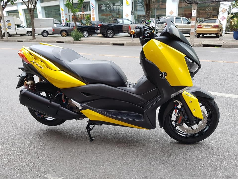 Yamaha XMax 300 do full option dep ngat ngay tren dat Thai - 19