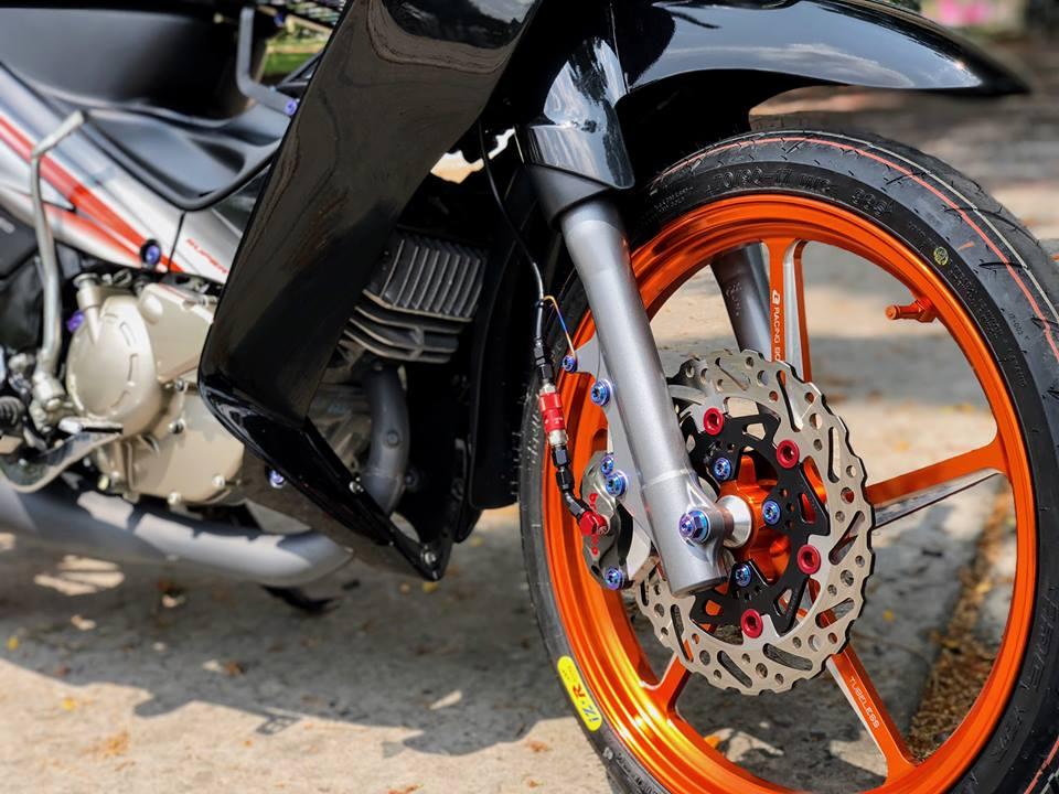 Yaz 125 do gay me nguoi xem voi option do choi gia tri cua biker mien Tay - 7