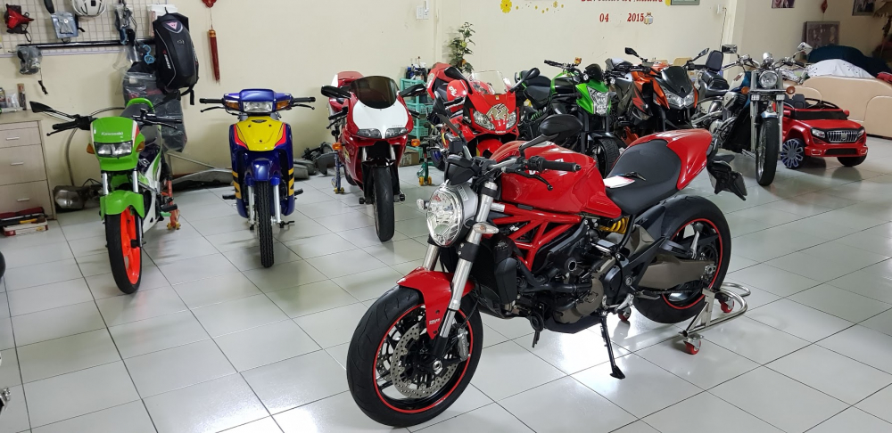 Ban Ducati Monster 821 ABS72017Chinh HangSaigon So Dep - 8