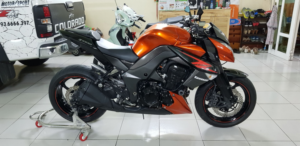 Ban Kawasaki Z1000 62012HQCNBien Saigon depNgay chu - 7