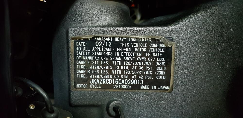 Ban Kawasaki Z1000 62012HQCNBien Saigon depNgay chu - 26