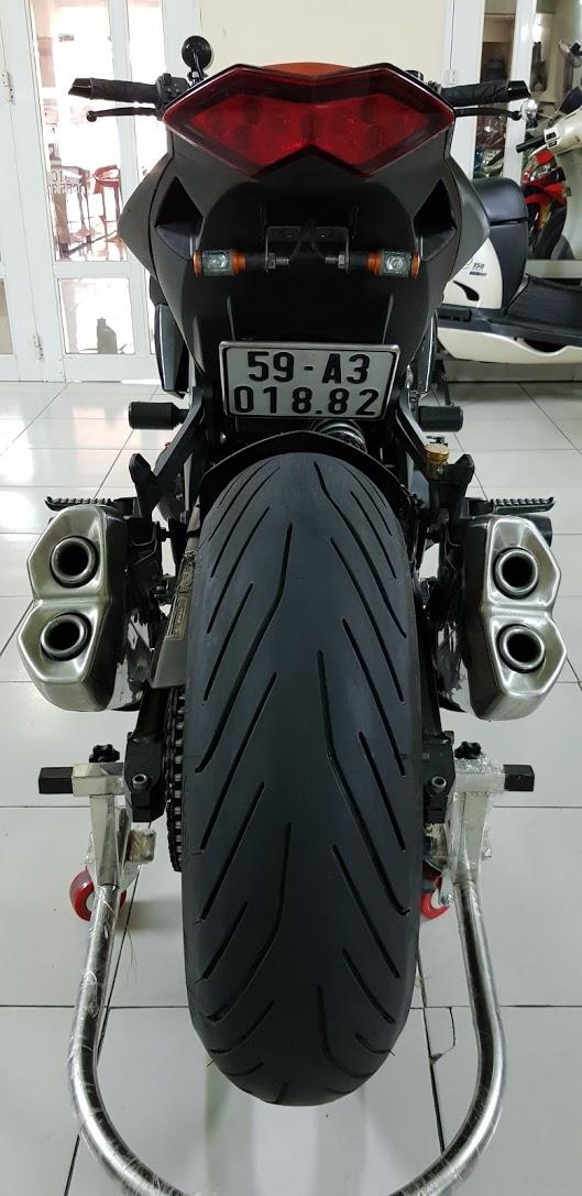Ban Kawasaki Z1000 82012HQCNBien Saigon so dep 9 nutNgay chu - 13