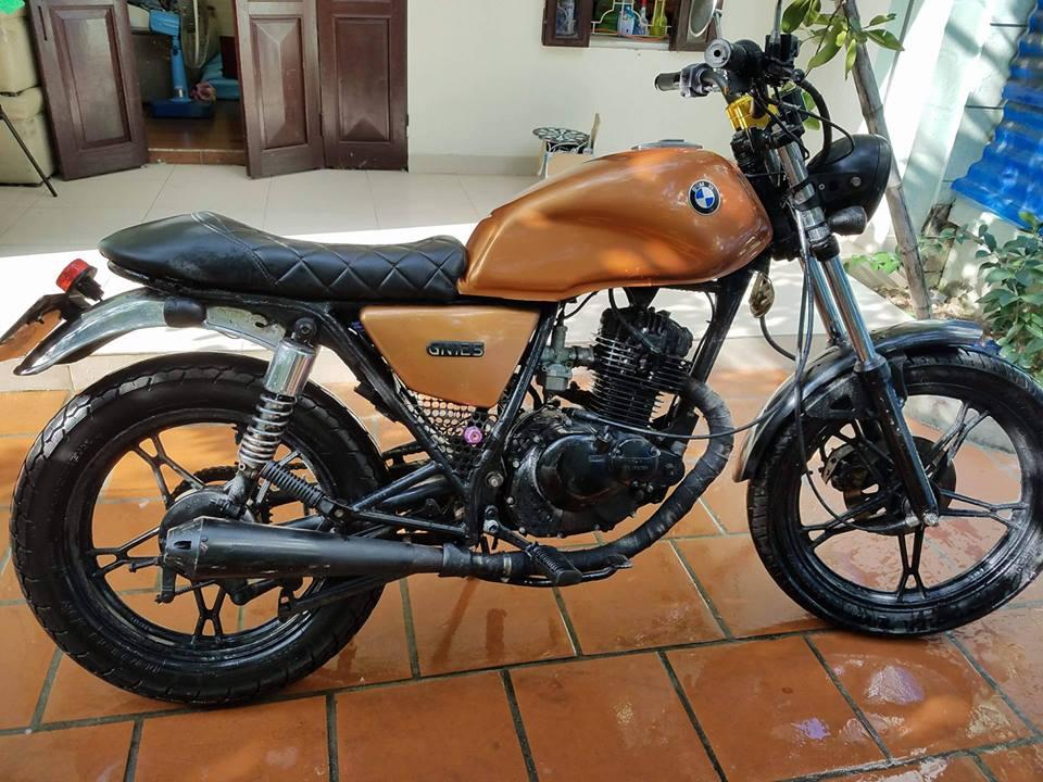 Ban Moto Suzuki Cafe Racer GN125
