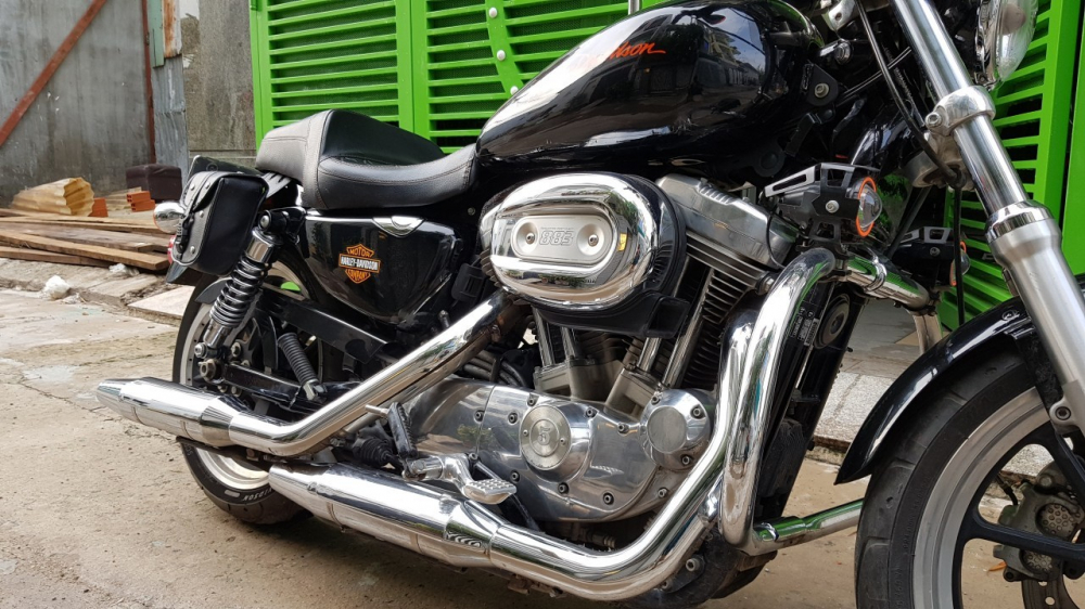 Ban xe Harley 883 supper low - 3