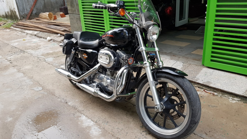 Ban xe Harley 883 supper low - 4