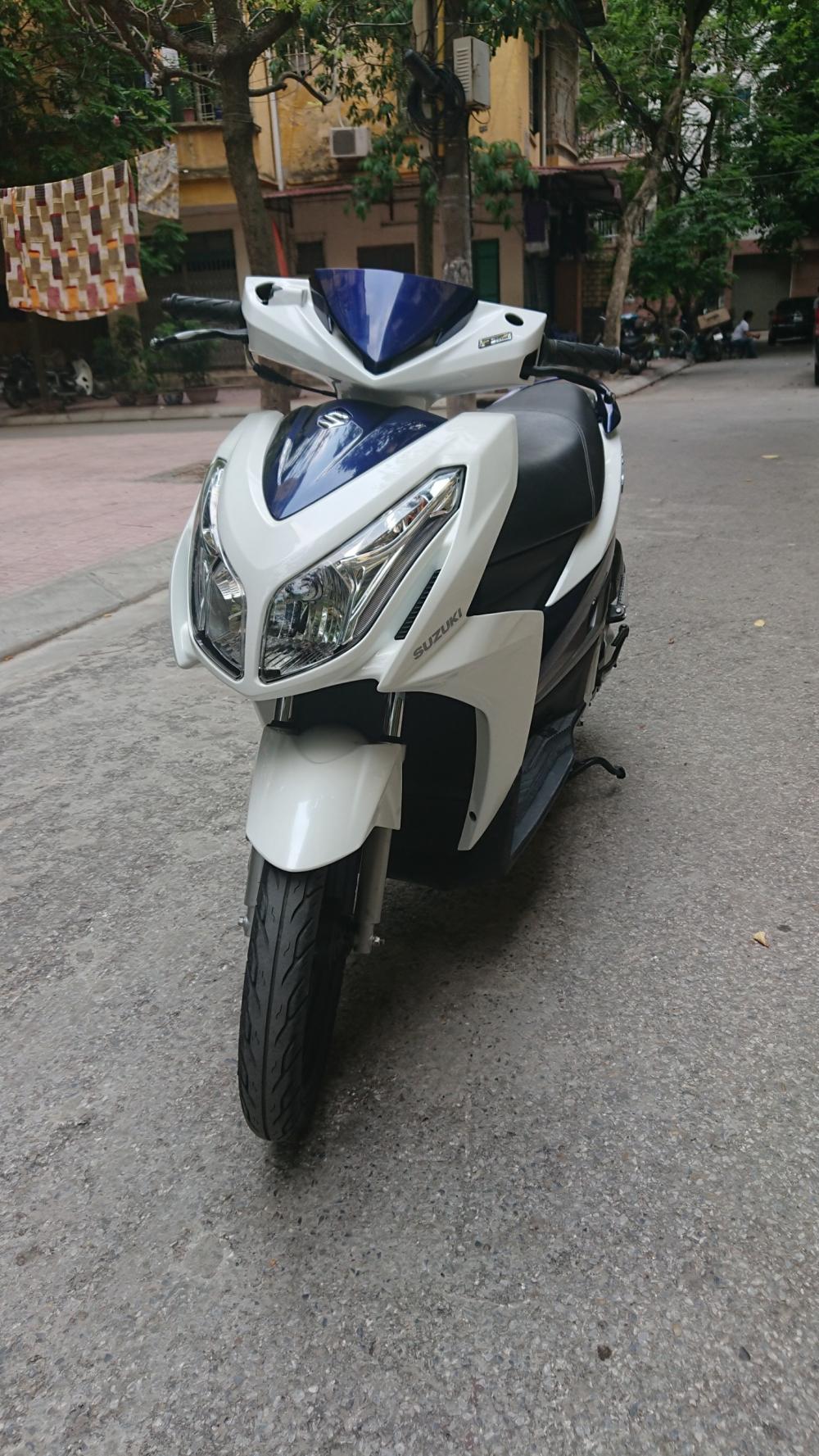 ban xe Suzuki Impulse xanh trang 2015 it dung chinh chu bien HN - 5