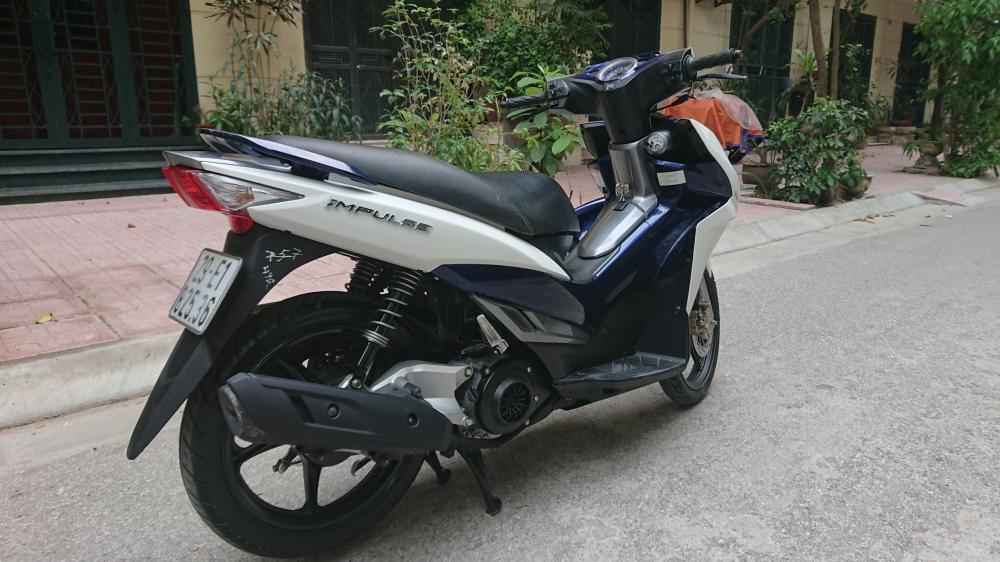 ban xe Suzuki Impulse xanh trang 2015 it dung chinh chu bien HN - 8