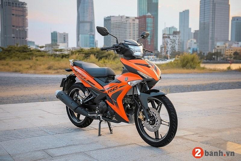 Bang gia xe may Yamaha thang 62018 tai Viet Nam