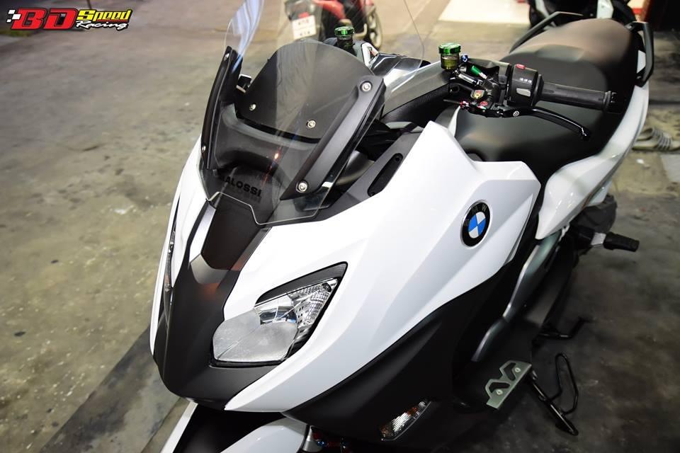 BMW C650 Sport do cang det voi dan option khung - 4