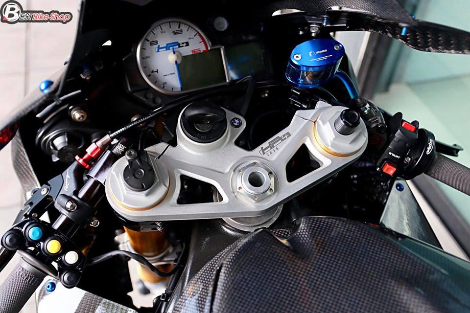 BMW HP4 ve dep tuyet sac trong trang bi full ao Carbon ilmberger - 8