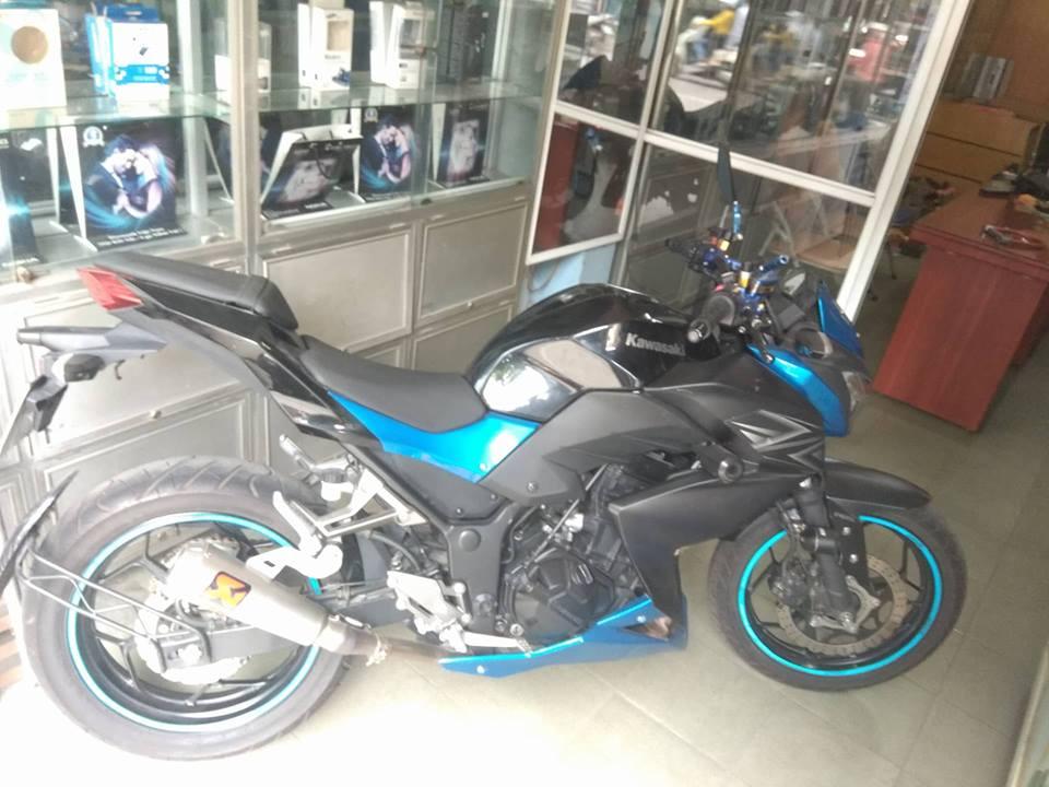 Can ban gap xe Kawasaki Z300 bien Ha Noi