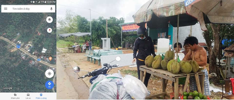 Chang trai chay Honda 67 hanh trinh TPHCM den Bao Loc day thu vi - 6