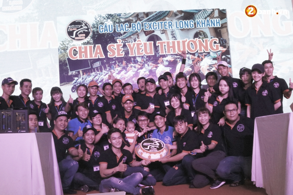 2banhvn Dong hanh cung Club Exciter Long Khanh mung sinh nhat lan thu 4