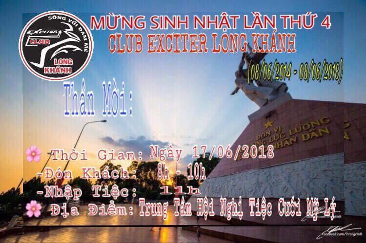 2banhvn Dong hanh cung Club Exciter Long Khanh mung sinh nhat lan thu 4 - 2