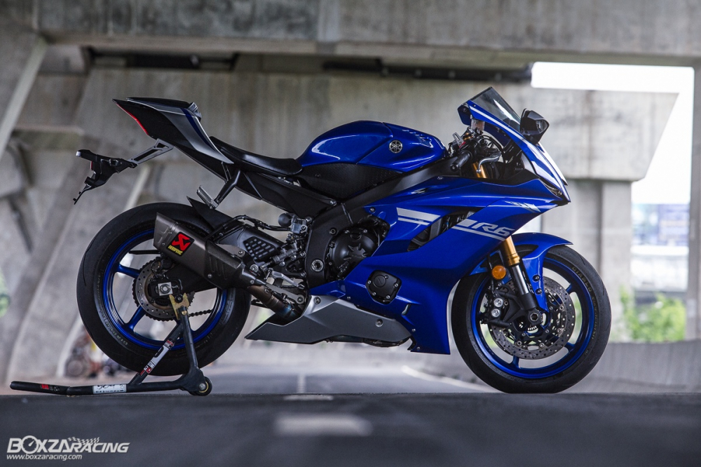 Danh gia chi tiet ve nhung diem moi tren Sportbike Yamaha R6 2018 - 15