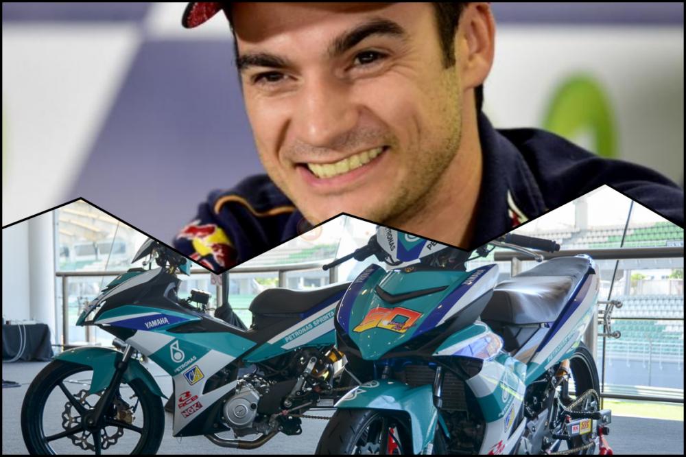 Dani Pedrosa am tham hop tac nghien cuu doi dua Yamaha Petronas Racing Team