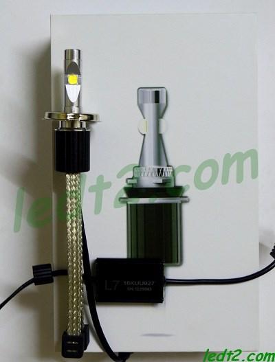 Den led XHP70 L7 900K bong