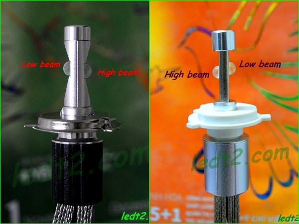 Den led XHP70 L7 900K bong - 3