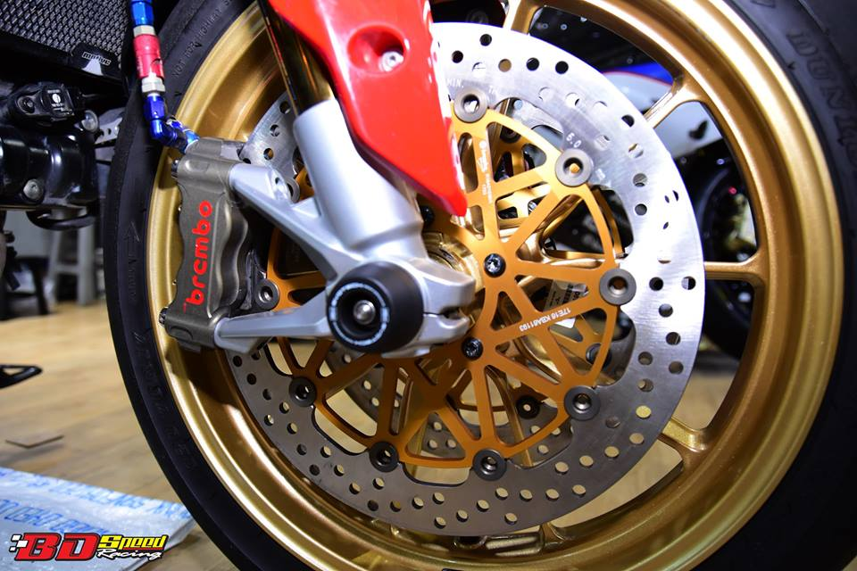 Ducati Hypermotard 821 ban do day hieu nang den tu Bd speed racing - 5