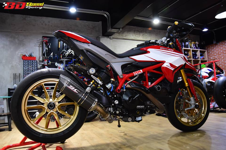 Ducati Hypermotard 821 ban do day hieu nang den tu Bd speed racing - 9