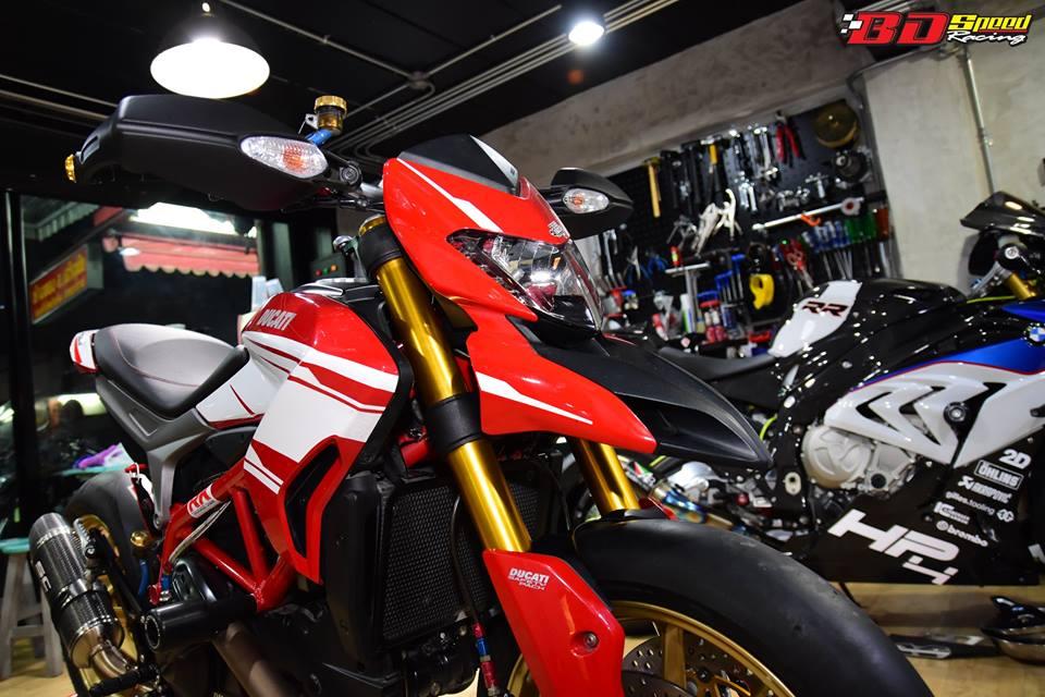 Ducati Hypermotard 821 ban do day hieu nang den tu Bd speed racing - 3