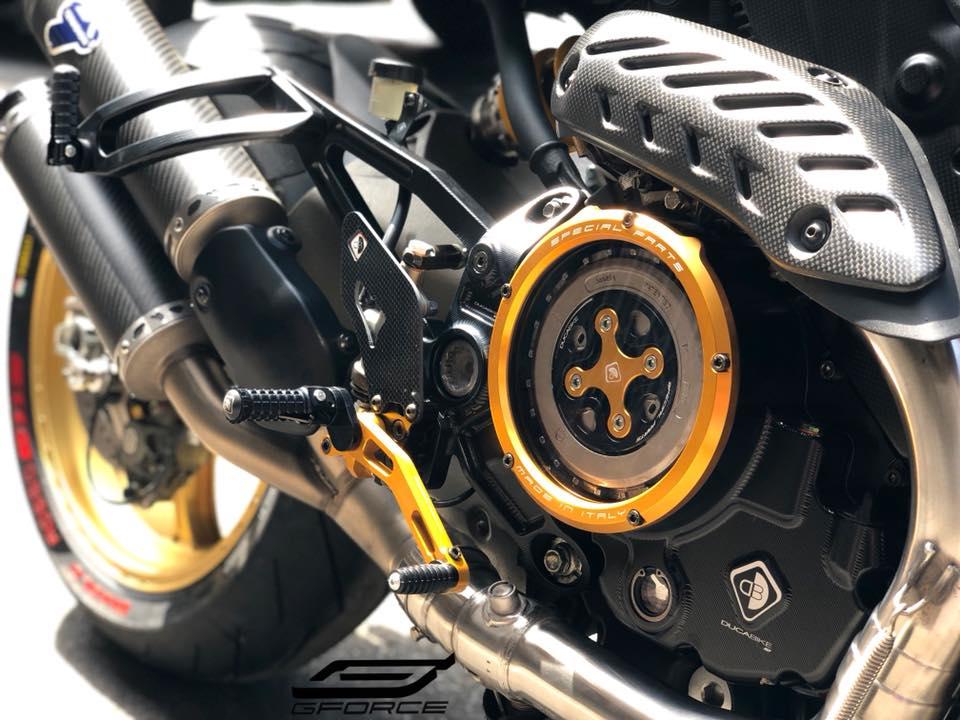 Ducati Monster 821 Ga quai vat trung nien dep long lon sau khi nang cap - 4