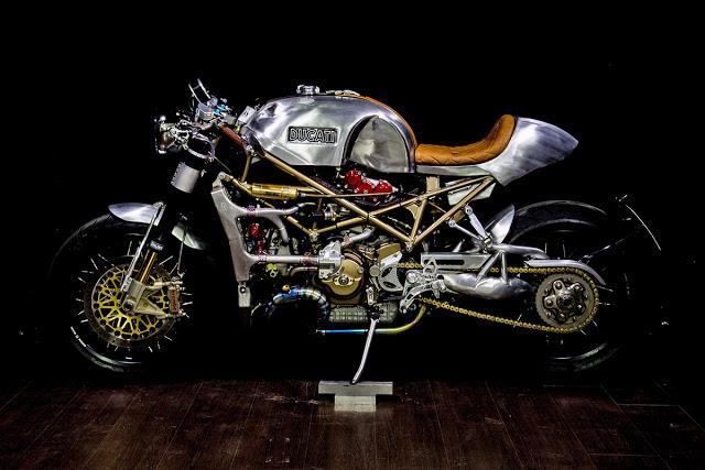 Ducati S4R Co may thiet giap den tu Metalbike Garage