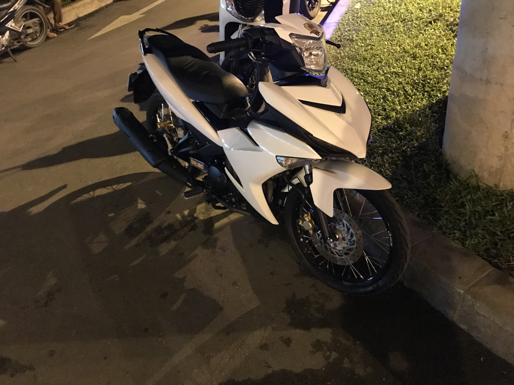Exciter 150 bach ma cua biker Tien Giang - 5