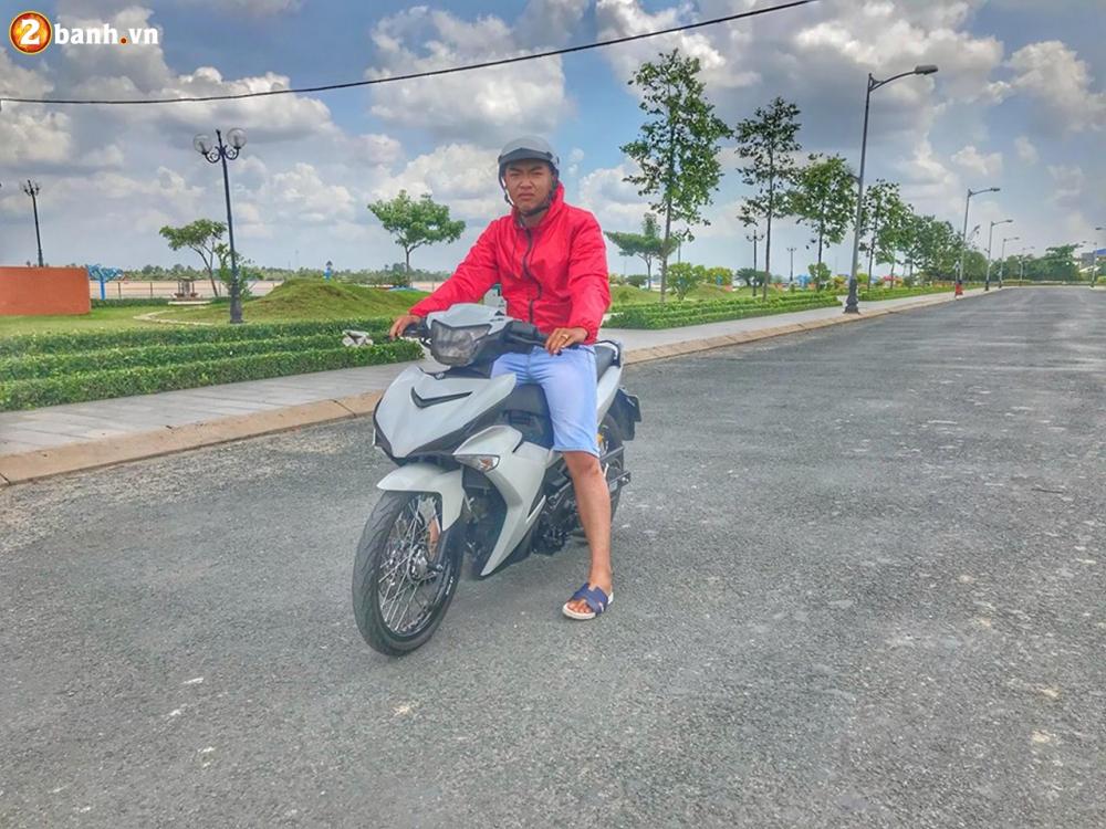 Exciter 150 do su gian don mang ve dep tim an cua biker Tien Giang - 9