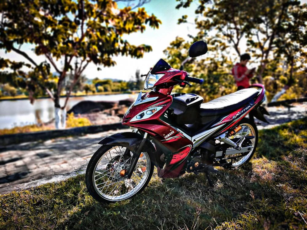 Exciter 2011 voi phong cach don gian nhe nhang cua biker Quang Nam - 2