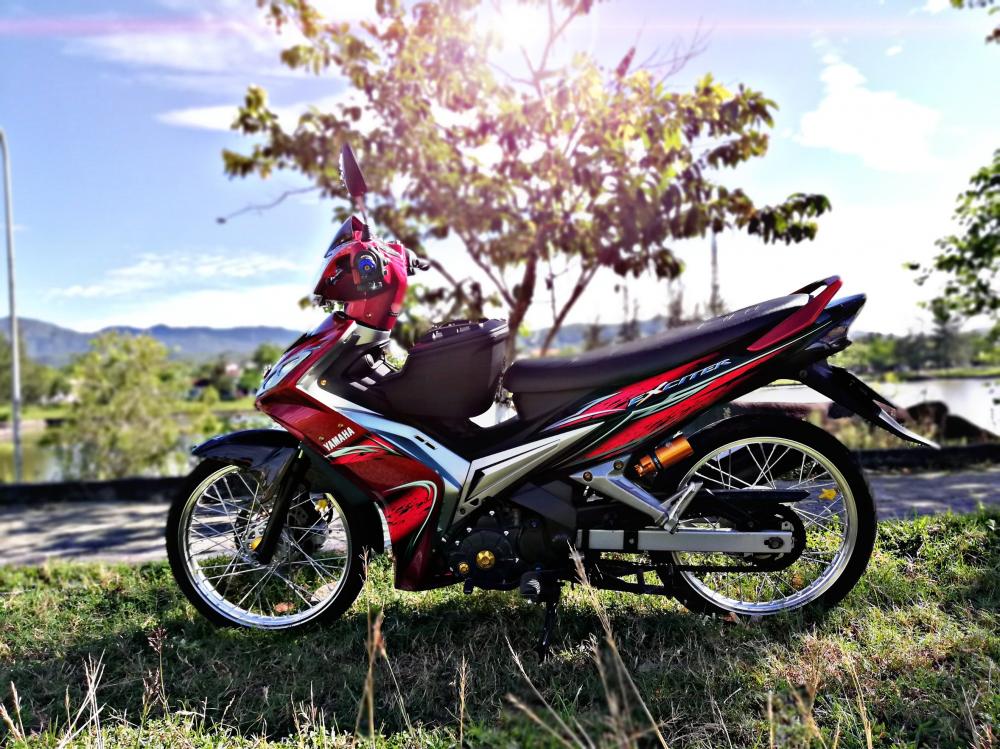 Exciter 2011 voi phong cach don gian nhe nhang cua biker Quang Nam