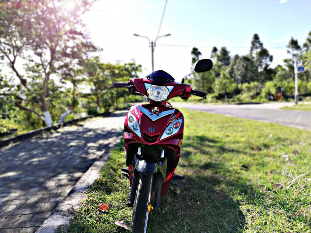 Exciter 2011 voi phong cach don gian nhe nhang cua biker Quang Nam - 4