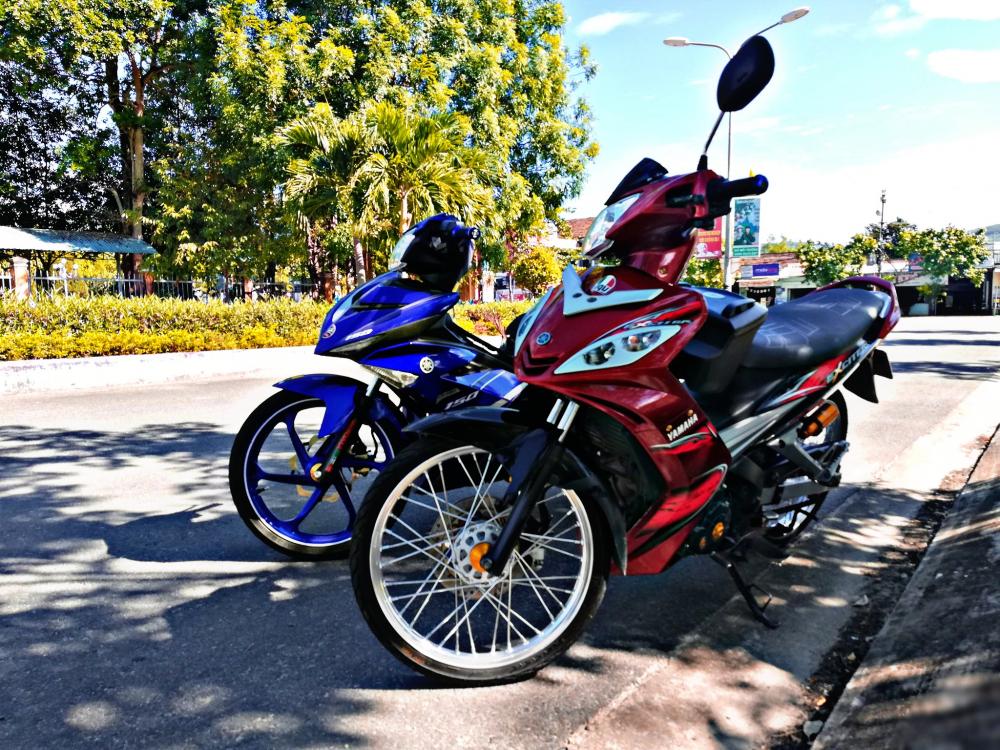 Exciter 2011 voi phong cach don gian nhe nhang cua biker Quang Nam - 6