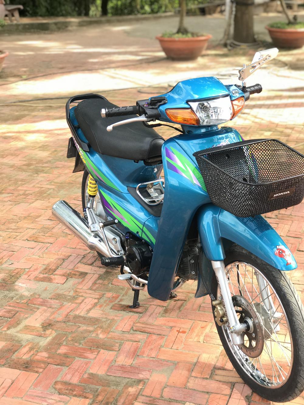 Wave 110 Thailan Xanh Ngoc - 6