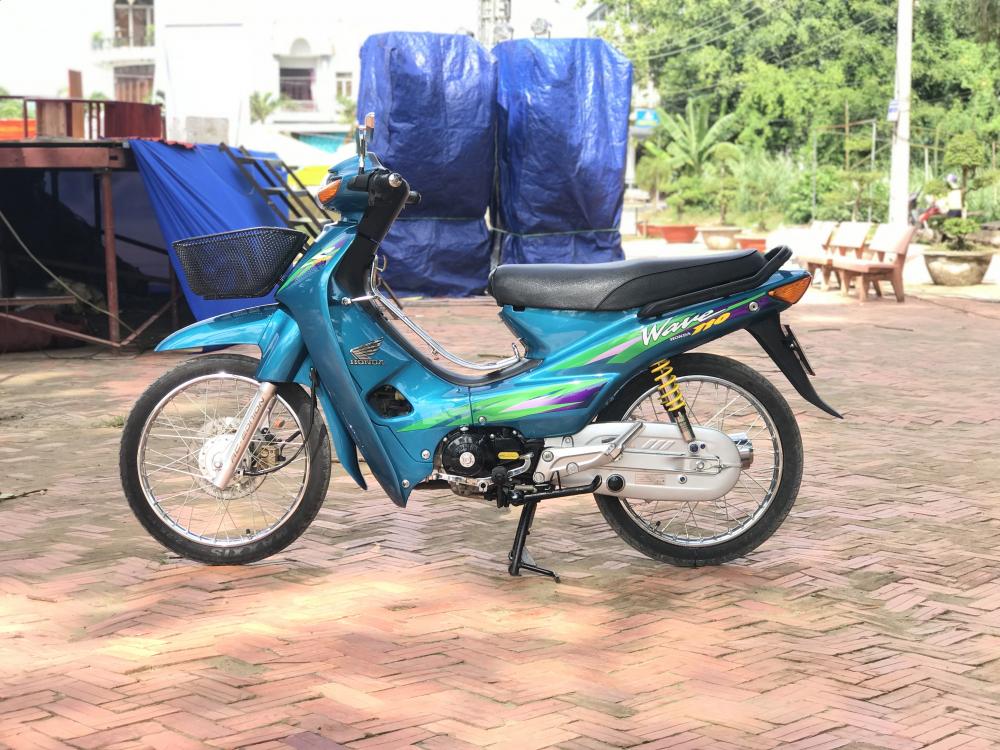 Wave 110 Thailan Xanh Ngoc
