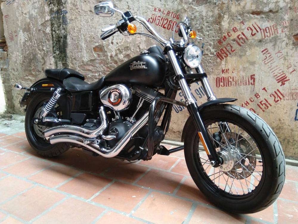 HarleyDavidson Street Bob 2015 chinh hang tai Ha Noi - 3