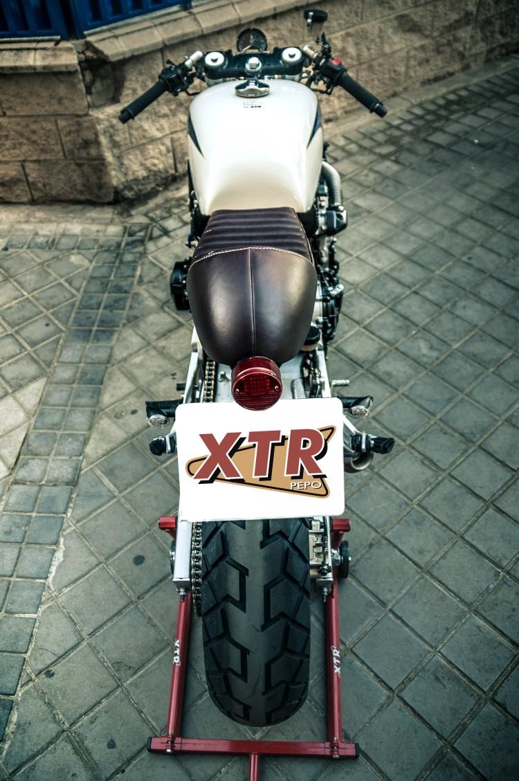 Honda CB600 ban do Cafe Racer den tu XTR Pepo - 6
