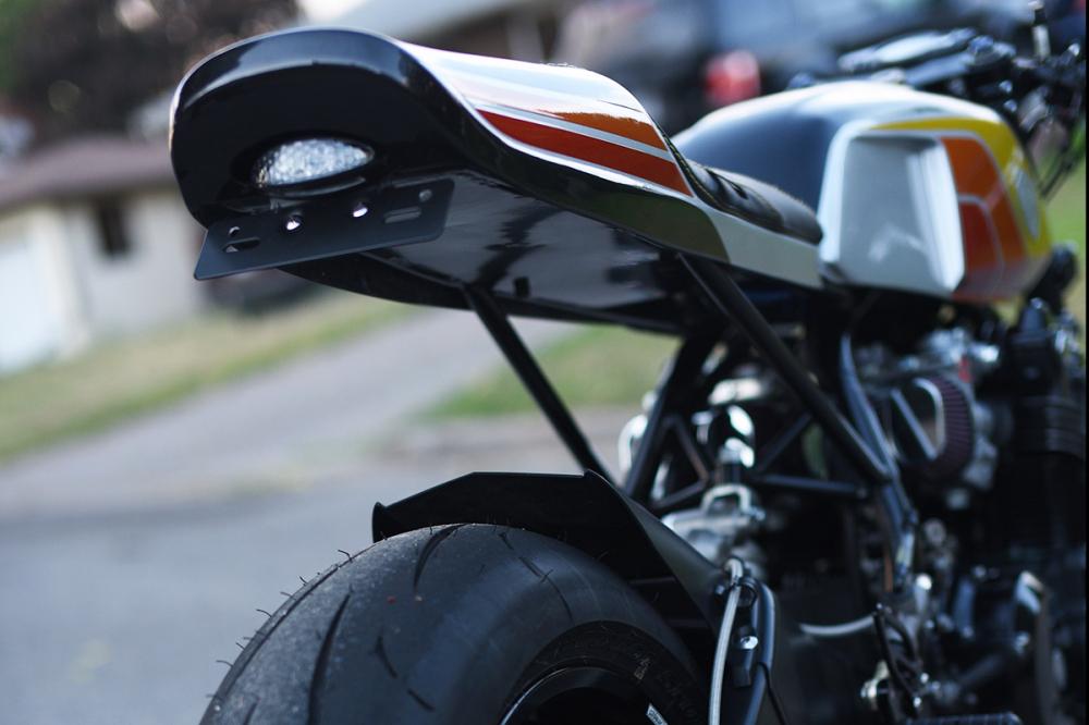 HONDA CB900F ban do Cafe Racer mang ten The Evil Twin - 8