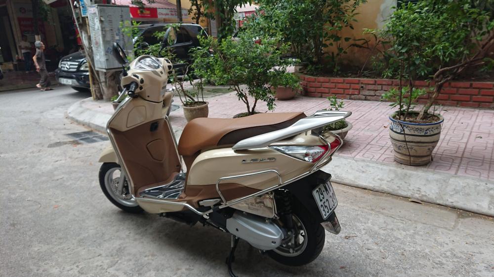 Honda Lead 125 fi doi moi 2015 chinh chu be vang con moi bien Hn - 4