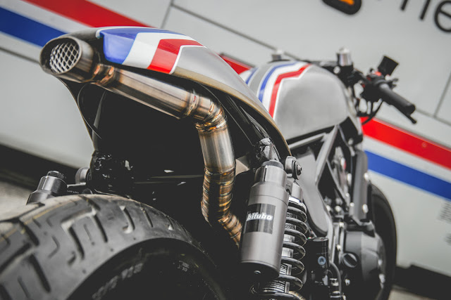 Honda Rebel 500 do chat choi theo phong cach Cafe Racer - 8