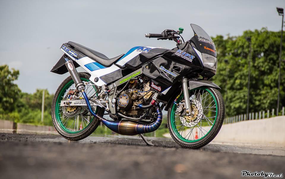 Kawasaki Kips 150 do mang ve dep kieu sa day dang cap tren dat Thai - 9