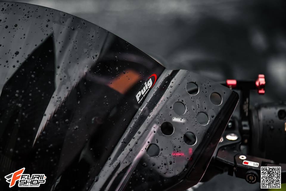 Kawasaki Z1000 ve dep huyen bi trong than hinh full black - 4