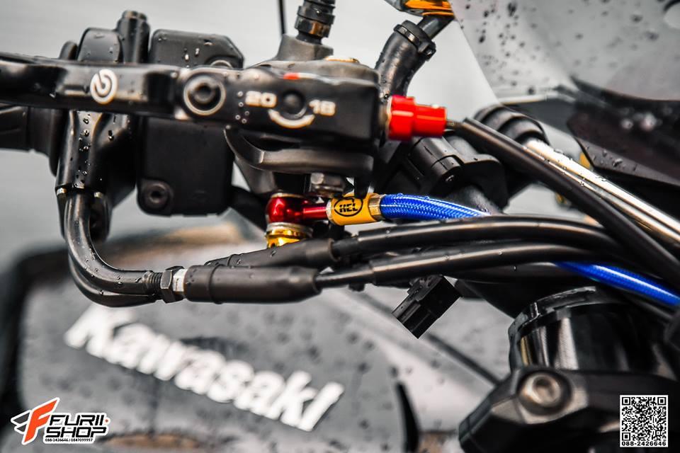 Kawasaki Z1000 ve dep huyen bi trong than hinh full black - 6