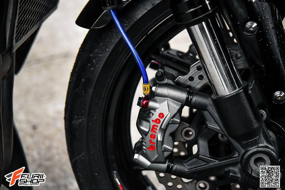Kawasaki Z1000 ve dep huyen bi trong than hinh full black - 8