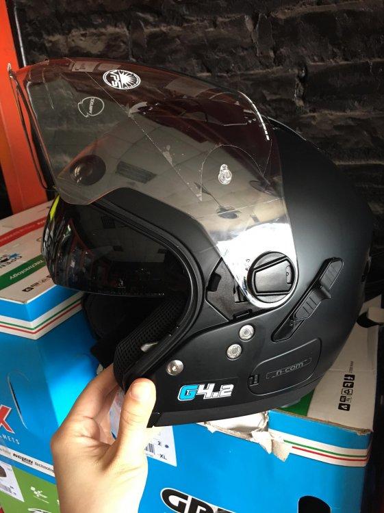 KTM Ha Noi Nolan N44 MoDel 2018 mot trong nhung chiec mu chat luong nhat tai Viet Nam - 2